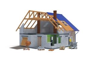 Modelowanie 3d - dom03