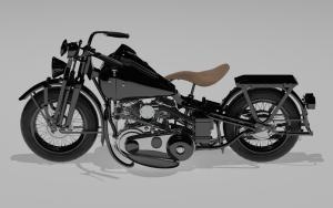 model 3d - harley 1