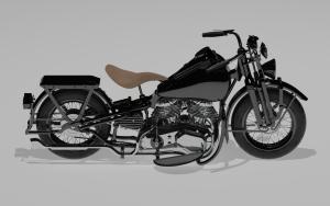 model 3d - harley 2