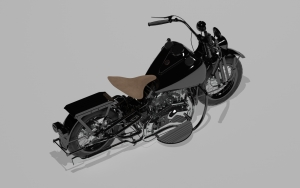model 3d - harley 4