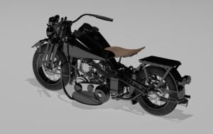 model 3d - harley 5