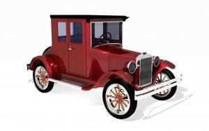 wizualizacja 3d - ford 1