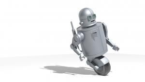 grafika 3d - robot 1