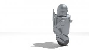 grafika 3d - robot 2