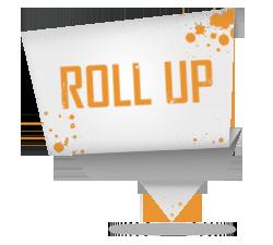 projektowanie roll up